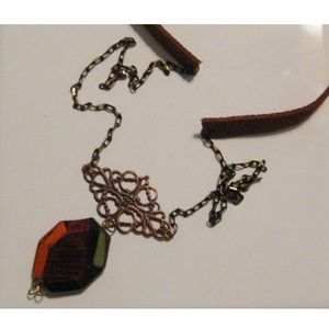 Jewelry - Mixed media Boho necklace